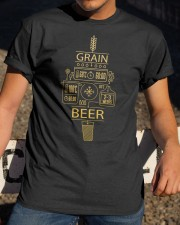 CRAFT BEER BREWERY MERCHANDISE GRAIN 2 Classic T-Shirt apparel-classic-tshirt-lifestyle-28