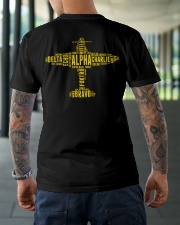 GREAT GIFTS FOR PILOT - ALPHABET BACK Classic T-Shirt lifestyle-mens-crewneck-back-3