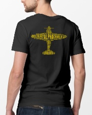 GREAT GIFTS FOR PILOT - ALPHABET BACK Classic T-Shirt lifestyle-mens-crewneck-back-5