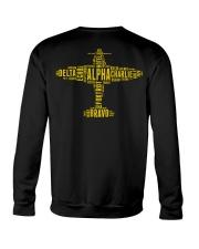 GREAT GIFTS FOR PILOT - ALPHABET BACK Crewneck Sweatshirt thumbnail