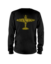 GREAT GIFTS FOR PILOT - ALPHABET BACK Long Sleeve Tee thumbnail