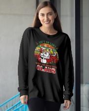 B - SANTA Long Sleeve Tee apparel-long-sleeve-tee-lifestyle-front-16