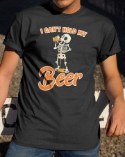 CRAFT BEER LOVER - I CAN'T HOLD MY BEER Classic T-Shirt apparel-classic-tshirt-lifestyle-28