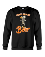 CRAFT BEER LOVER - I CAN'T HOLD MY BEER Crewneck Sweatshirt thumbnail