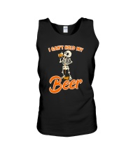 CRAFT BEER LOVER - I CAN'T HOLD MY BEER Unisex Tank thumbnail