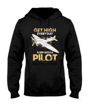 PILOT GIFT - GET HIGH Hooded Sweatshirt thumbnail
