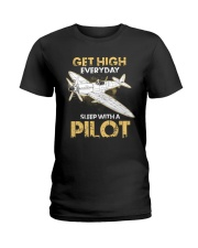 PILOT GIFT - GET HIGH Ladies T-Shirt thumbnail