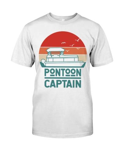 PONTOON BOAT GIFT - PONTOON CAPTAIN WHITE