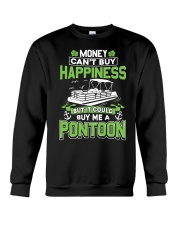 PONTOON BOAT GIFT - MONEY COULD BUY ME A PONTOON Crewneck Sweatshirt tile