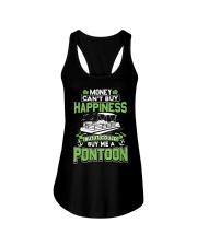 PONTOON BOAT GIFT - MONEY COULD BUY ME A PONTOON Ladies Flowy Tank thumbnail