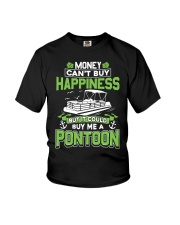 PONTOON BOAT GIFT - MONEY COULD BUY ME A PONTOON Youth T-Shirt thumbnail