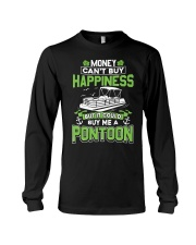 PONTOON BOAT GIFT - MONEY COULD BUY ME A PONTOON Long Sleeve Tee tile