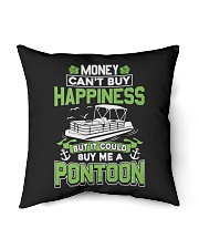 "PONTOON BOAT GIFT - MONEY COULD BUY ME A PONTOON Indoor Pillow - 16"" x 16"" thumbnail"