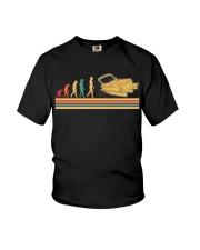 PONTOON BOAT GIFT - EVOLUTION Youth T-Shirt thumbnail