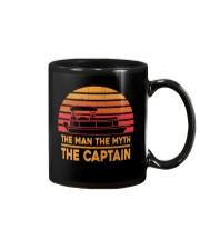 PONTOON LOVER - THE MAN THE MYTH THE CAPTAIN Mug thumbnail