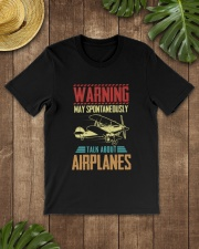 PILOT GIFT - TALK ABOUT AIRPLANES Classic T-Shirt lifestyle-mens-crewneck-front-18