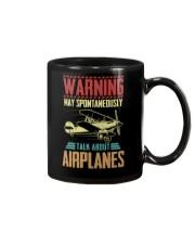 PILOT GIFT - TALK ABOUT AIRPLANES Mug thumbnail
