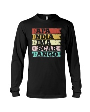 AVIATION RELATED GIFT - PILOT VINTAGE Long Sleeve Tee thumbnail