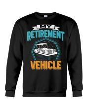 PONTOON BOAT GIFT - MY RETIREMENT Crewneck Sweatshirt thumbnail