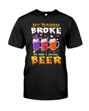 B - HW - MY BROOM Classic T-Shirt front
