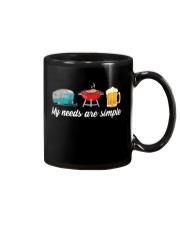 BONFIRE AND BEER - SIMPLE NEEDS Mug tile