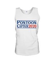 PONTOON BOAT GIFT - PONTOON CAPTAIN 2020 Unisex Tank thumbnail