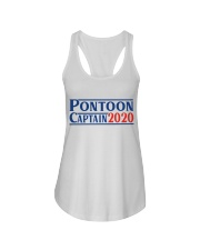 PONTOON BOAT GIFT - PONTOON CAPTAIN 2020 Ladies Flowy Tank thumbnail