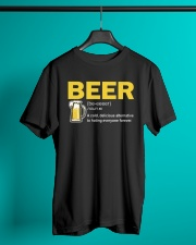 TRULY DRINK BEER DEFINITION Classic T-Shirt lifestyle-mens-crewneck-front-3
