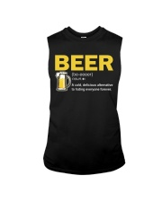 TRULY DRINK BEER DEFINITION Sleeveless Tee thumbnail