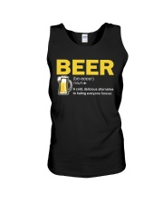 TRULY DRINK BEER DEFINITION Unisex Tank thumbnail