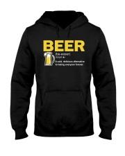 TRULY DRINK BEER DEFINITION Hooded Sweatshirt thumbnail