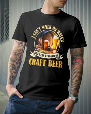 CRAFT BEER LOVER - STAGGER ON BEER Classic T-Shirt lifestyle-mens-crewneck-front-6