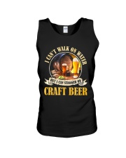CRAFT BEER LOVER - STAGGER ON BEER Unisex Tank thumbnail