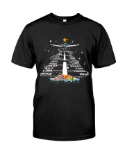 PILOT GIFT - THE ALPHABET XMAS TREE  Classic T-Shirt front