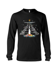 PILOT GIFT - THE ALPHABET XMAS TREE  Long Sleeve Tee thumbnail