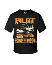 PILOT SOCIAL DISTANCE TRAINING SINCE 1904 Youth T-Shirt thumbnail