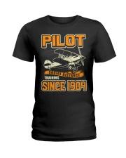PILOT SOCIAL DISTANCE TRAINING SINCE 1904 Ladies T-Shirt thumbnail