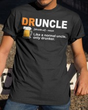 CRAFT BEER BREWERY DRUNCLE  Classic T-Shirt apparel-classic-tshirt-lifestyle-28