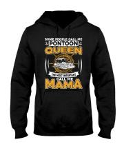PONTOON BOAT GIFT - PONTOON MAMA Hooded Sweatshirt thumbnail