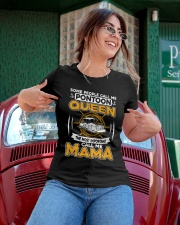 PONTOON BOAT GIFT - PONTOON MAMA Ladies T-Shirt apparel-ladies-t-shirt-lifestyle-01
