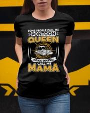 PONTOON BOAT GIFT - PONTOON MAMA Ladies T-Shirt apparel-ladies-t-shirt-lifestyle-04