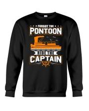 PONTOON FUNNY GIFTS - RIDE THE PONTOON CAPTAIN Crewneck Sweatshirt thumbnail