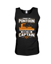 PONTOON FUNNY GIFTS - RIDE THE PONTOON CAPTAIN Unisex Tank thumbnail