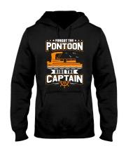 PONTOON FUNNY GIFTS - RIDE THE PONTOON CAPTAIN Hooded Sweatshirt thumbnail