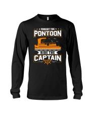 PONTOON FUNNY GIFTS - RIDE THE PONTOON CAPTAIN Long Sleeve Tee thumbnail