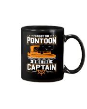 PONTOON FUNNY GIFTS - RIDE THE PONTOON CAPTAIN Mug thumbnail