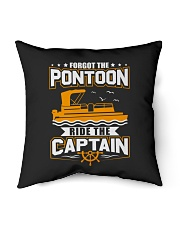 """PONTOON FUNNY GIFTS - RIDE THE PONTOON CAPTAIN Indoor Pillow - 16"""" x 16"""" thumbnail"""