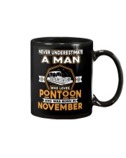 PONTOON BOAT GIFT - NOVEMBER PONTOON MAN Mug thumbnail