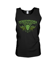 CRAFT BEER LOVER - NOBREWPHOBIA Unisex Tank thumbnail