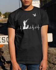 DUCK HUNTING HEARTBEAT Classic T-Shirt apparel-classic-tshirt-lifestyle-29